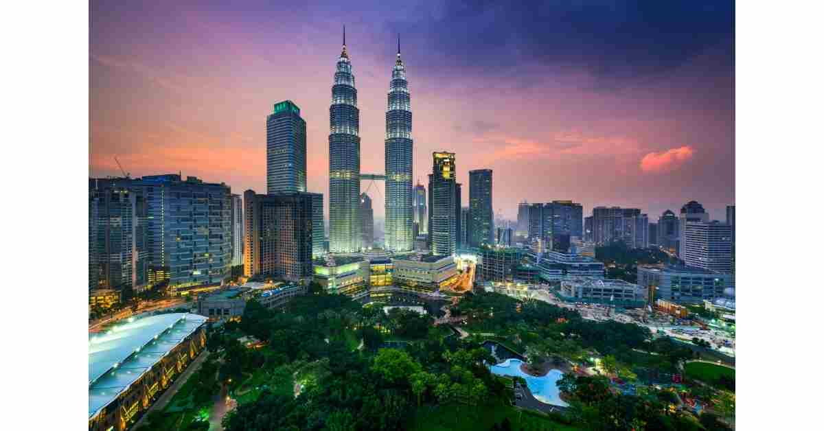 The KL skyline - Malaysia is increasingly popular with Asian property investors