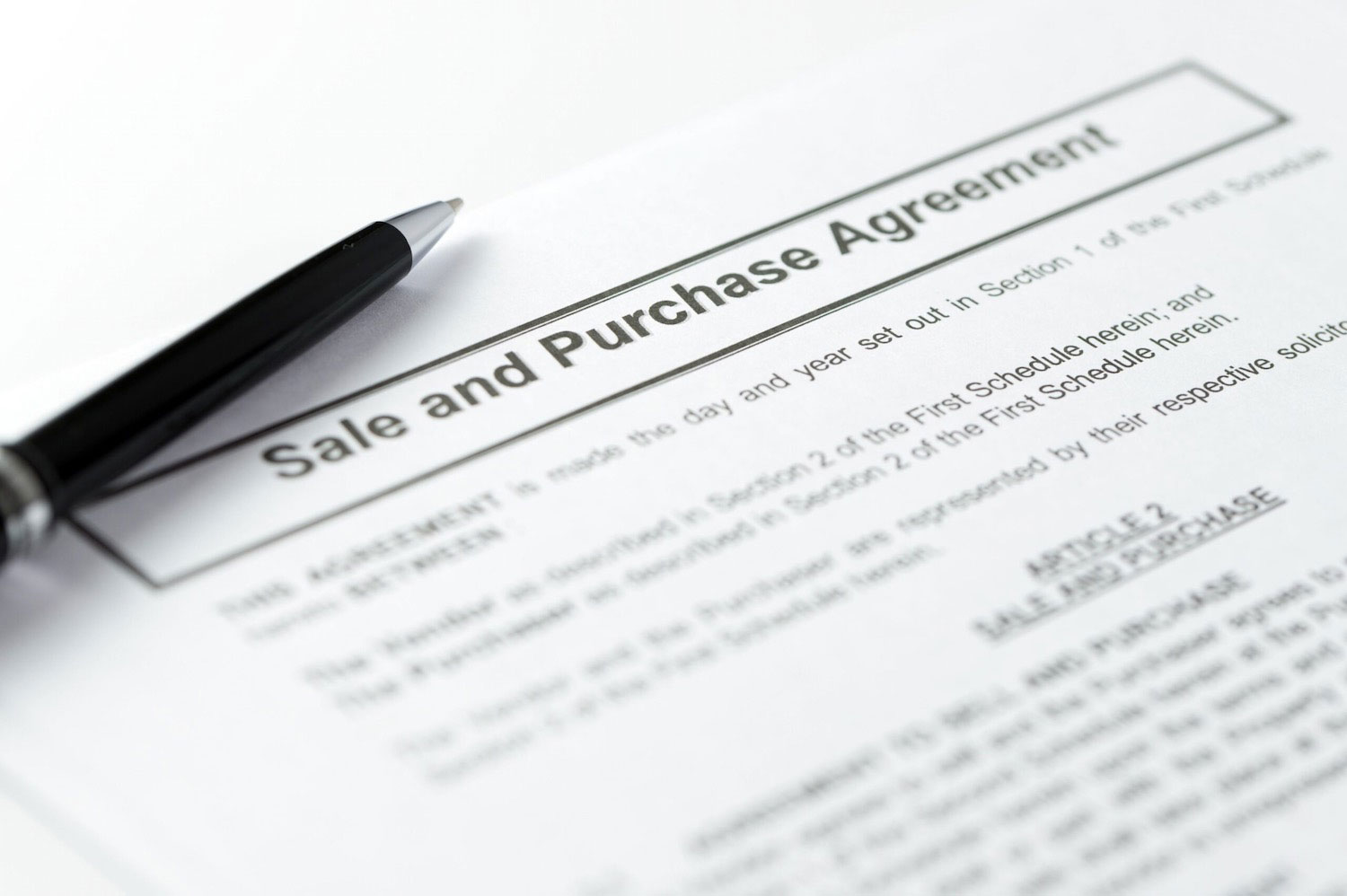 The Sale and Purchase Agreements - this will contain details of any rights you may have to sub sell or assign
