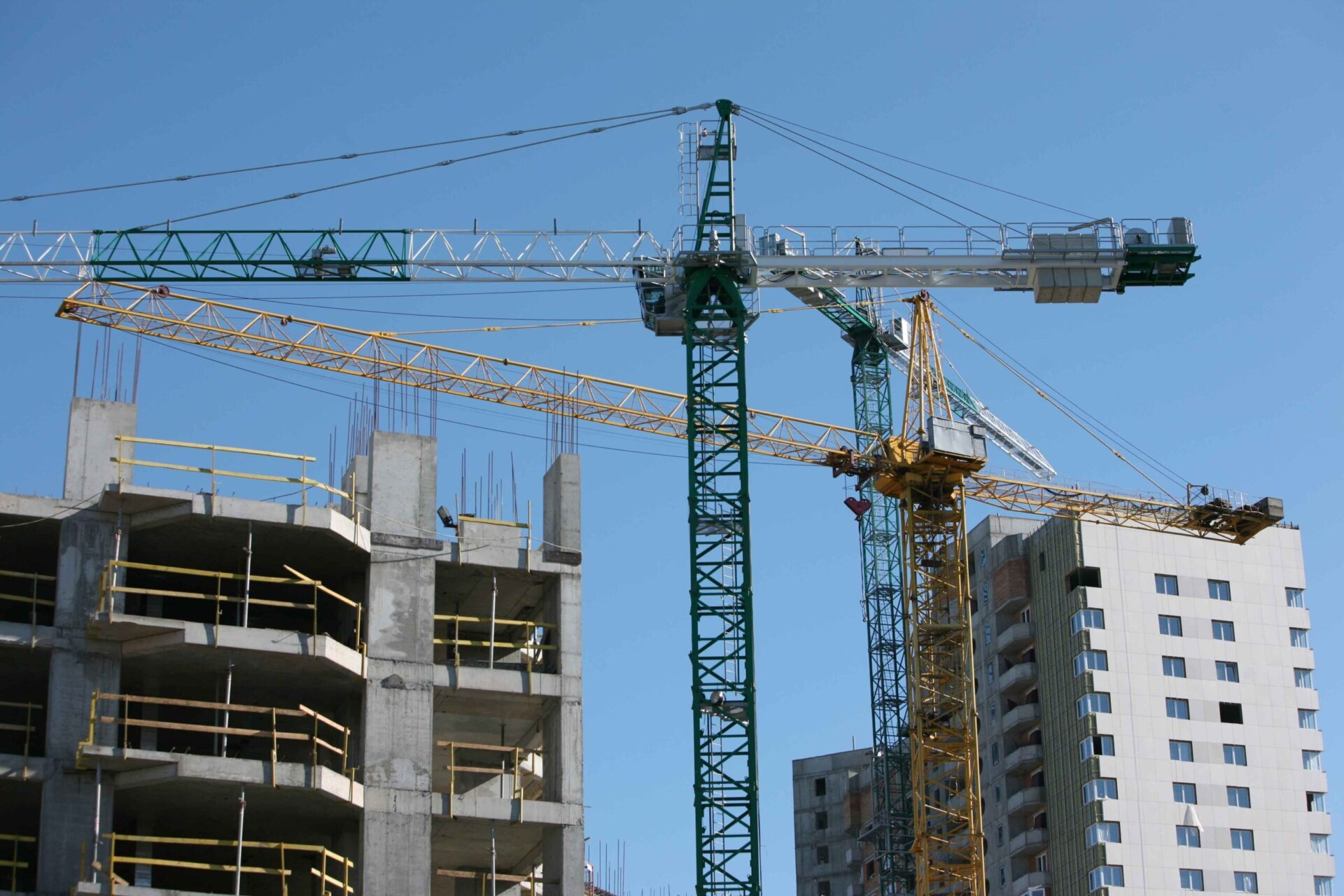 Properties under construction  - there are risks of buying off plan